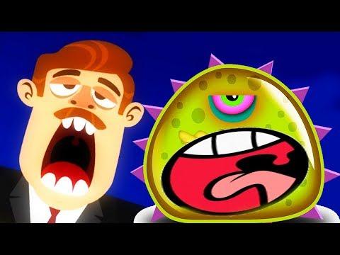 ПРИКЛЮЧЕНИЯ ЛИЗУНА мультик игра для маленьких детей #1   игровой мультфильм 2018 Blobs Летсплей