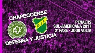 Siga - http://twitter.com/sovideoemhdCurta - http://facebook.com/sovideoemhdCONMEBOL SUL-AMERICANA 20172ª Fase - Jogo VoltaArena Índio Condá, Chapecó, SC, Brasil