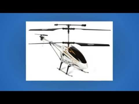 Radio Controlled  Electric Coaxial Skytech M1 Hurricane Metal 3 5 Channel RC Helicopter