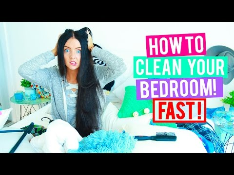 How To Clean Your Room Fast + Cleaning Hacks & Organisations Tips + Tricks. (видео)