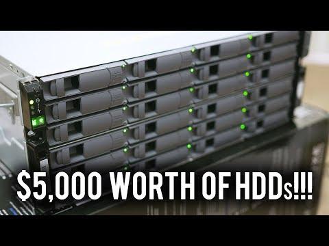 Building our 10 Gigabit 192TB Storage Server! FINALLY!!