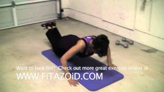 Exercise Videos: Be Lean, Be Strong With Push-Ups A La Femme
