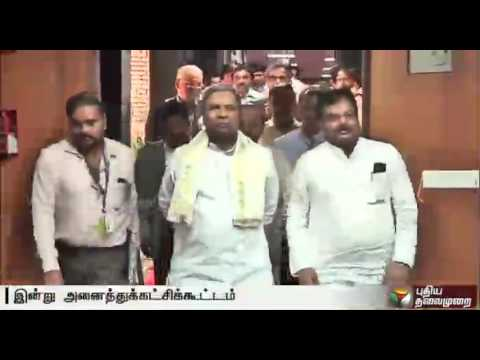 Cauvery-Issue-All-party-meet-in-Karnataka-with-no-steps-so-far-in-implementing-SC-order