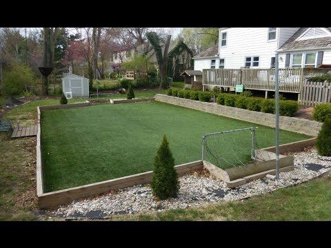 How to Make a Backyard Artificial Turf Field