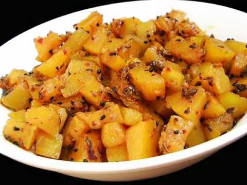 Andhra Recipes – Gummadikaya Koora – Pumpkin Curry – Indian Telugu Vegetarian Food