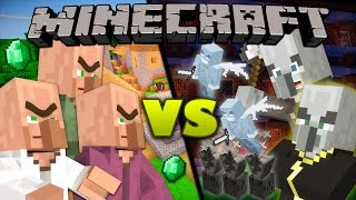Nonton Villagers vs. Illagers - Minecraft Film Subtitle Indonesia Streaming Movie Download