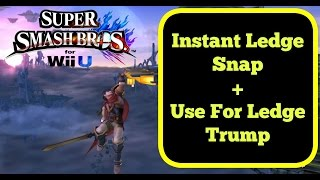 Instant Ledge Snap and How to Use it for Ledge Trumping – Smash Wii U/3DS