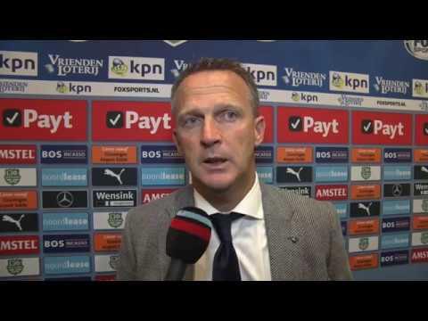 Reactie Van den Brom na FC Groningen - AZ