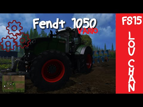 Fendt 1050 with gearbox and real sound fixed v1.2