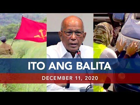 UNTV: Ito Ang Balita | December 11, 2020 - LIVE REPLAY