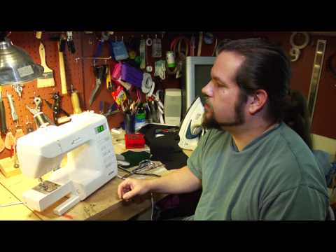 Sewing Machine Techniques : Leather Sewing Tips