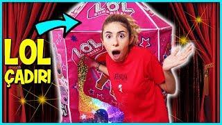 Gizli Geçit LOL Surprise Oyun Çadırı Eğlenceli Çocuk Videosu Dila Kent