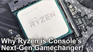 Everything about the current-gen consoles represented a generational leap over PS3 and Xbox 360... except storage and more importantly, CPU. Maybe we're obsessing too much over GPU teraflops when it's the arrival of Ryzen CPU tech in consoles that is the real gamechanger.Subscribe for more Digital Foundry: http://bit.ly/DFSubscribe