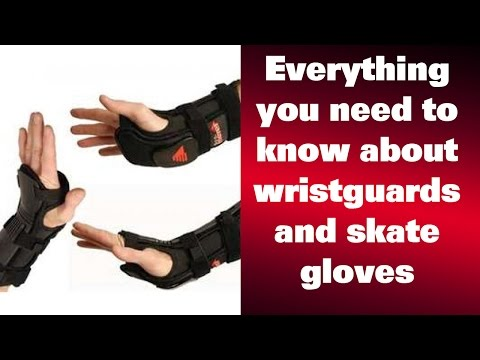 Everything you need to know about wristguards and skate gloves