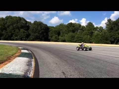 Slowest lap around Road Atlanta with a special guest!