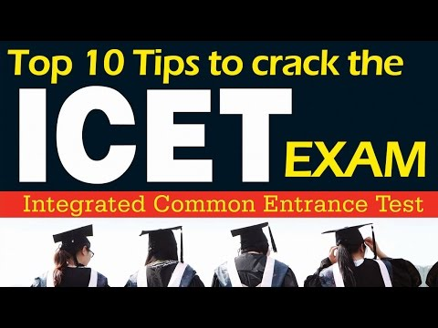 Top 10 Tips To Crack The Icet Exam