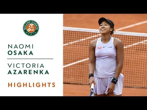 Naomi Osaka vs Victoria Azarenka - Round 2 Highlights | Roland-Garros 2019 - Thời lượng: 2:28.