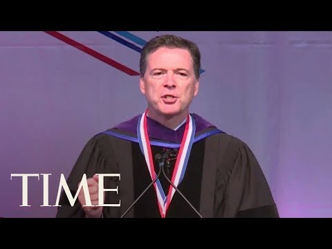 Students Chant 'Get Out' During James Comey's Speech At Howard University: