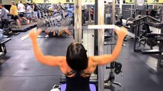 Training Lats & Delts with IFBB Bikini Body Pro, Michele D'Angona- Learn the proper form for training your lats- the wider part of your back & the overhead shoulder press for delts. These are two particular exercises that form is everything! Lat pulldown's are one of the best exercises for your lats (back) to get those wings to grow! :) Empower yourself by constantly remaining a work in progress, always open to learning new things, & improving on what you already possess! Learn the proper form & get the most out of your workouts. Also, please check out my other videos & Subscribe to my youtube for more free info, tips, & tricks of transformation! Body-Mind-Soul!  www.empoweringbody.com