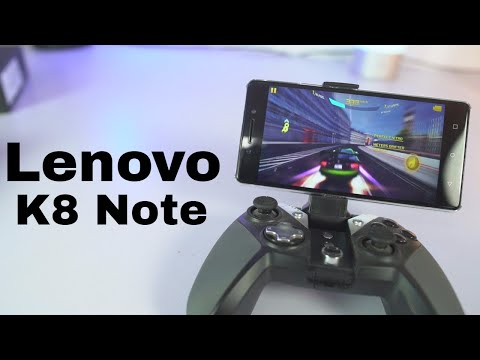 Lenovo K8 Note Gaming Review, Heating Test, Memory Management test and Benchmark Scores