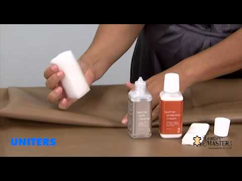 Usage of the Leather Master Kit