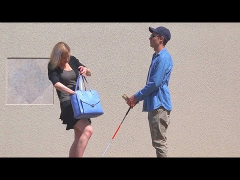 The Real Blind Man Honesty Test (Social Experiment)