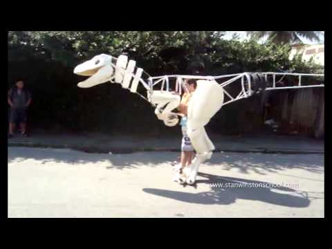 Halloween Amazing Velociraptor Suit by F bio