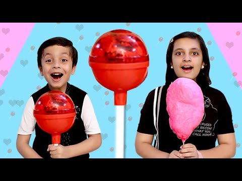 CANDY CHALLENGE Funny Parents vs Kids Toffee  Aayu and Pihu Show