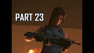 Shadow of the Tomb Raider Walkthrough Part 23 - Lara's Rampage (Let's Play Gameplay Commentary)