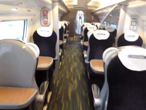 First Class interior tour of the Virgin Trains Class 390 (Pendolino)