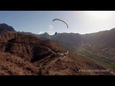 Sientete unico volando con parapente en La Gomera