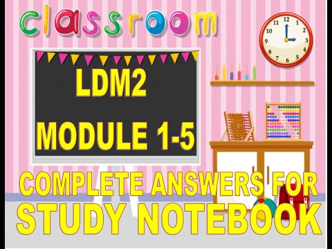 LDM2 COMPLETE ANSWERS MODULE 1-5 WITH SOFT COPY