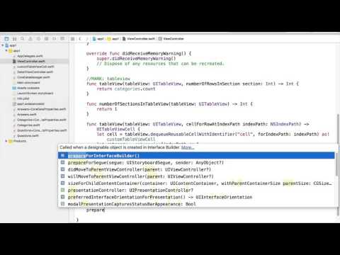 Learn To Build Your First Professional iOS App - Core Data Manager Class Part D