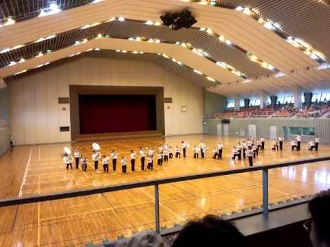 マーチングコンテスト愛媛県大会 津田中学校