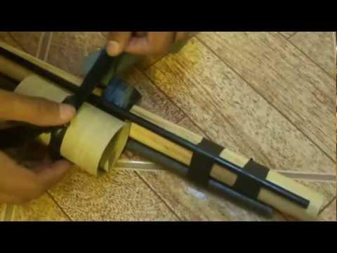 Como Hacer un Arma Casera Facil y Potente (HD)