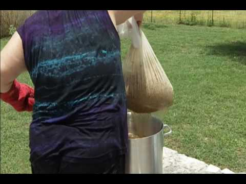 Super Easy All Grain Homebrew Beer Brew in a Bag Method Autumn Amber Ale