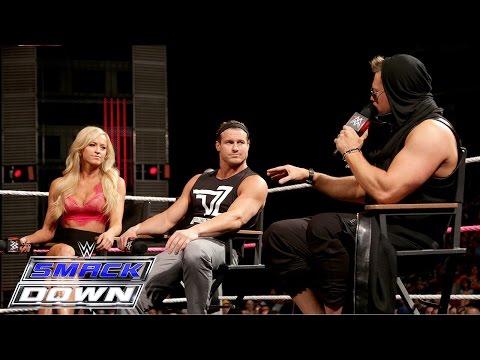 """""""Miz TV"""" welcomes Dolph Ziggler, Summer Rae and Tyler Breeze: SmackDown, October 22, 2015"""