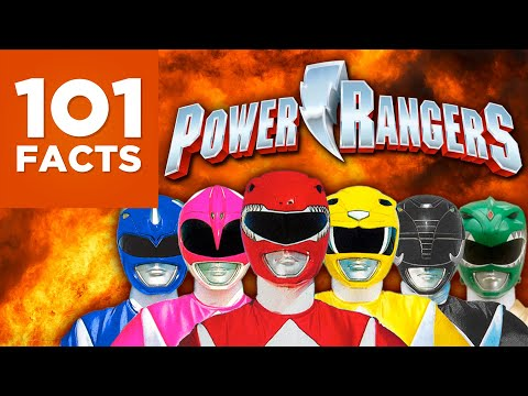 101 Facts About the Power Rangers