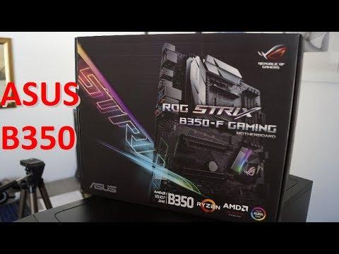 ASUS B350-F Gaming ROG Strix