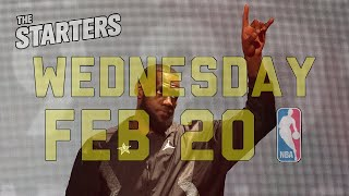 NBA Daily Show: Feb. 20 - The Starters by NBA