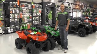 7. 2016 Arctic Cat Youth 90 and 150 ATV's