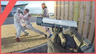 Airsoft War - Zombie Gun Game   TrueMOBSTER