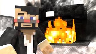 BURNING MY HOUSE DOWN (Minecraft Animation)