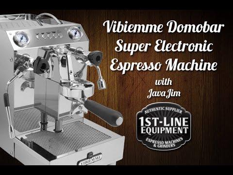 Usage Review: Vibiemme Electronic Super HX Espresso Machine