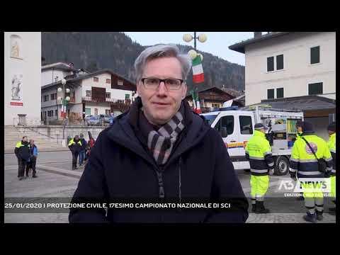 25/01/2020 | PROTEZIONE CIVILE, 17ESIMO CAMPIONATO NAZIONALE DI SCI