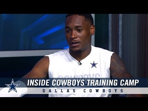 Inside Cowboys Training Camp: Closer Look at Kam Kelly | Dallas Cowboys 2018