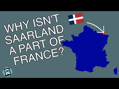Why did the French Fail to Annex Saarland? (Short Animated Documentary)