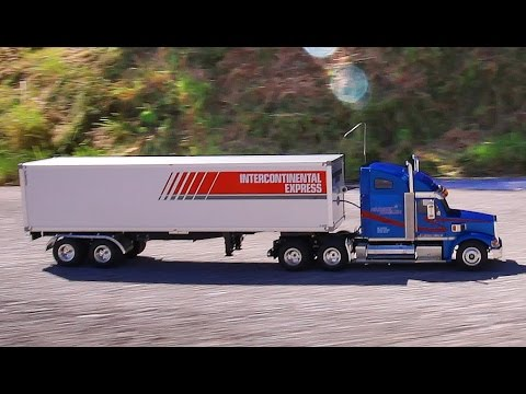 EPIC RC 18 WHEELER DELIVERY - KNIGHT HAULER