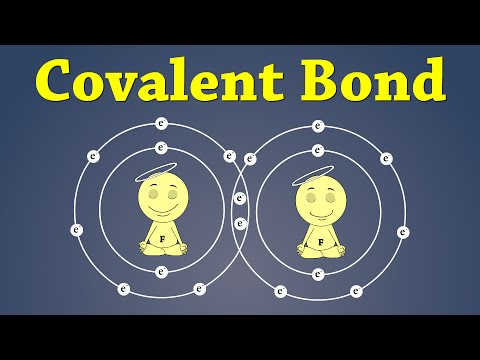 Covalent Bonding | #aumsum #kids #education #science #learn