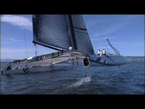 Video | Alinghi 5 – First sail – 20 July 2009